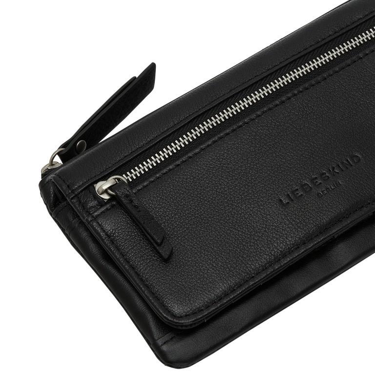 Geldbörse Basic Layla mit RFID-Schutz Black, Farbe: schwarz, Marke: Liebeskind Berlin, EAN: 4064657269834, Abmessungen in cm: 18.5x10.5x2.5, Bild 4 von 4