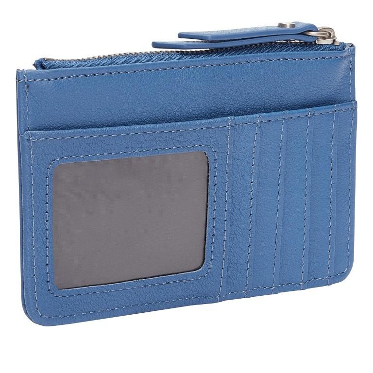 Geldbörse Basic Stella Retro Denim, Farbe: blau/petrol, Marke: Liebeskind Berlin, EAN: 4064657269780, Abmessungen in cm: 13.5x9.0x0.5, Bild 2 von 4