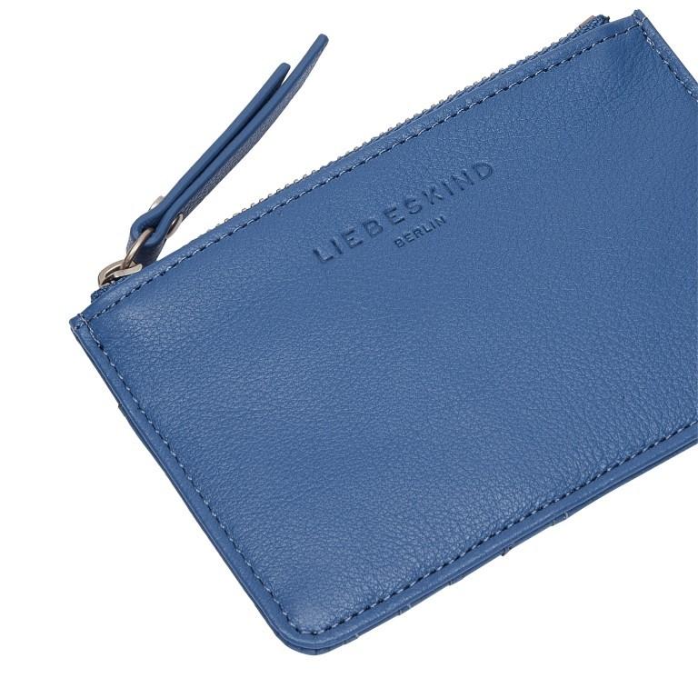 Geldbörse Basic Stella Retro Denim, Farbe: blau/petrol, Marke: Liebeskind Berlin, EAN: 4064657269780, Abmessungen in cm: 13.5x9.0x0.5, Bild 4 von 4
