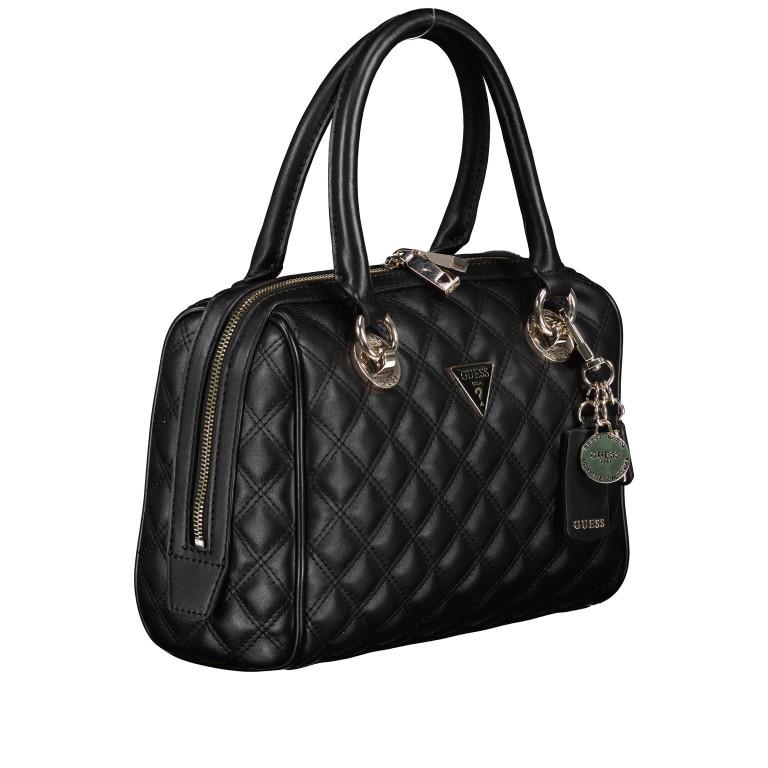 Handtasche Cessily Black, Farbe: schwarz, Marke: Guess, EAN: 0190231498360, Abmessungen in cm: 26.0x19.0x11.0, Bild 2 von 7