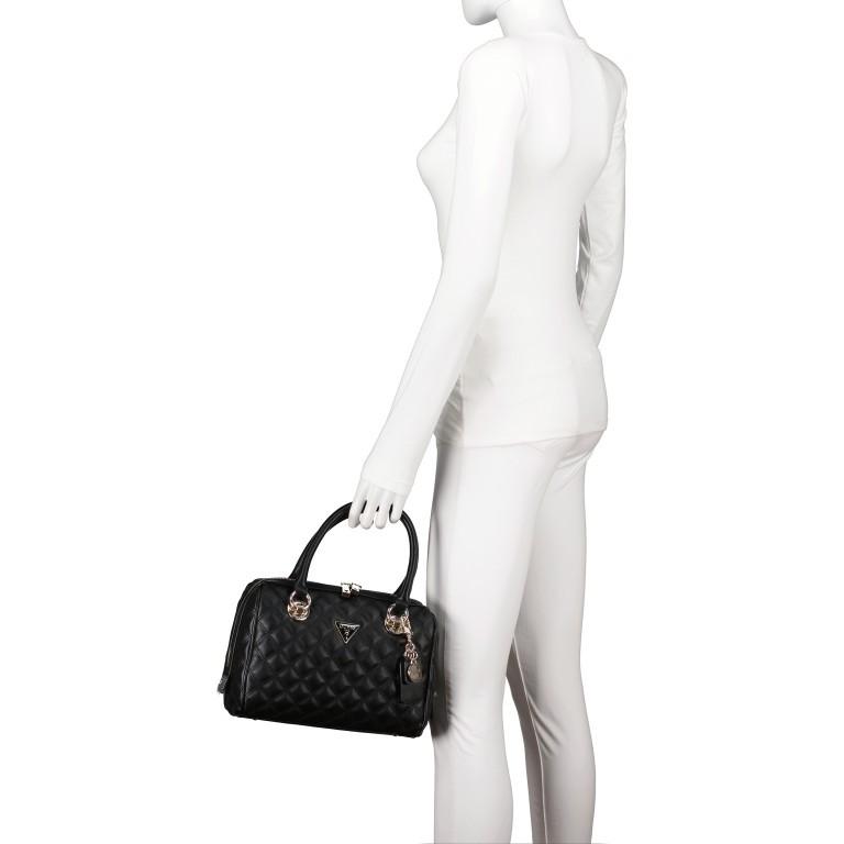 Handtasche Cessily Black, Farbe: schwarz, Marke: Guess, EAN: 0190231498360, Abmessungen in cm: 26.0x19.0x11.0, Bild 4 von 7