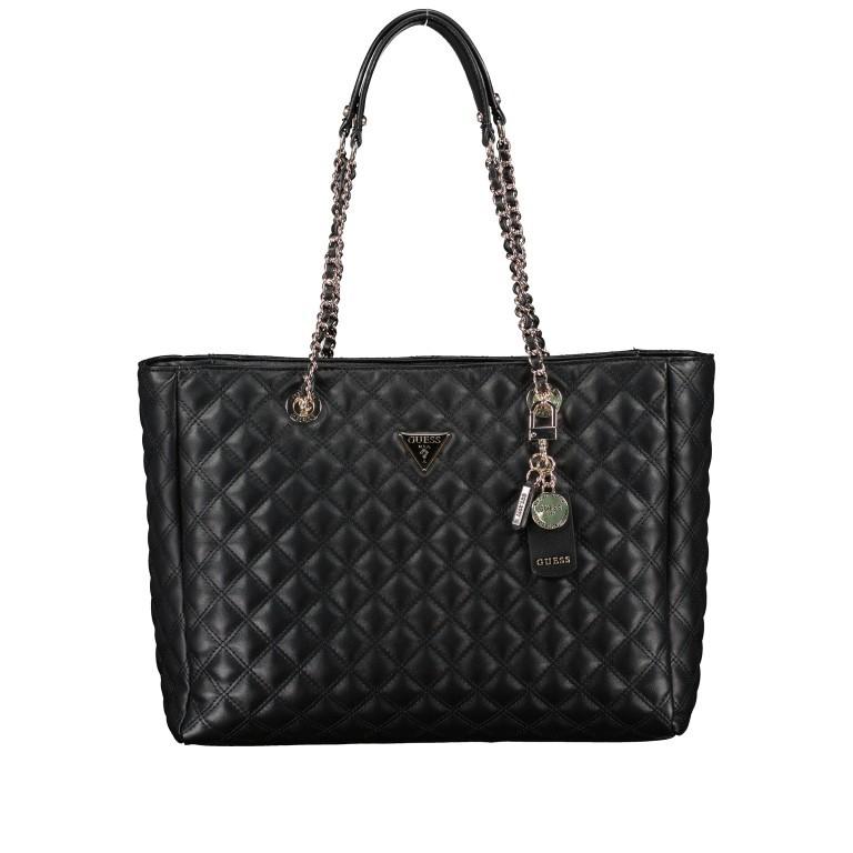Shopper Cessily Black, Farbe: schwarz, Marke: Guess, EAN: 0190231498483, Abmessungen in cm: 35.0x27.0x11.0, Bild 1 von 5