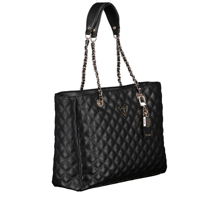 Shopper Cessily Black, Farbe: schwarz, Marke: Guess, EAN: 0190231498483, Abmessungen in cm: 35.0x27.0x11.0, Bild 2 von 5