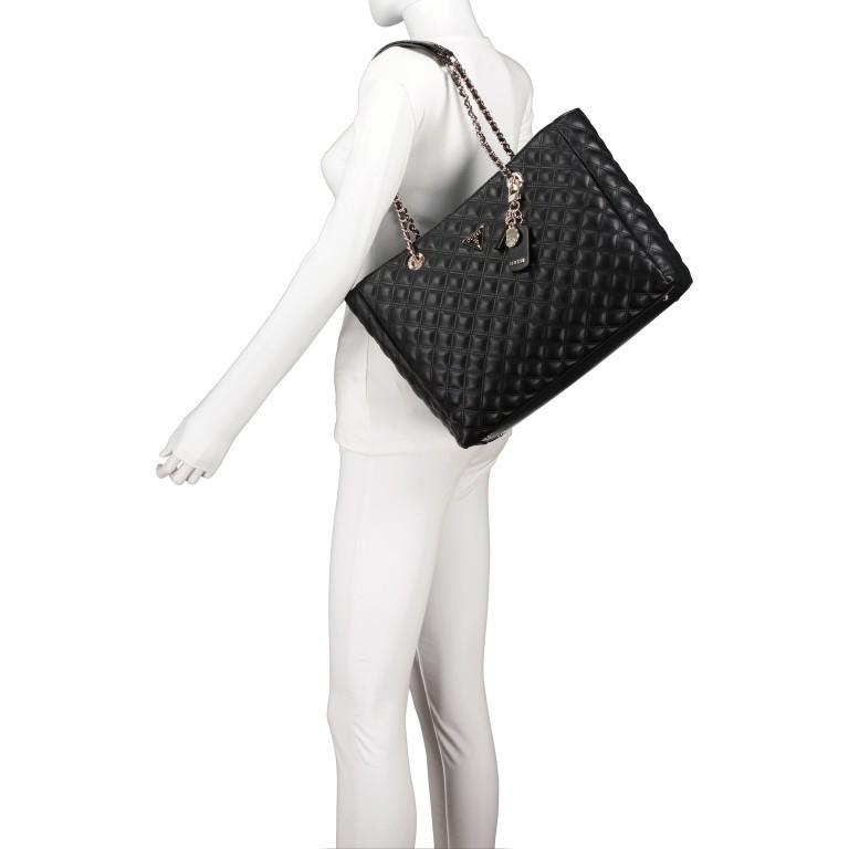 Shopper Cessily Black, Farbe: schwarz, Marke: Guess, EAN: 0190231498483, Abmessungen in cm: 35.0x27.0x11.0, Bild 4 von 5
