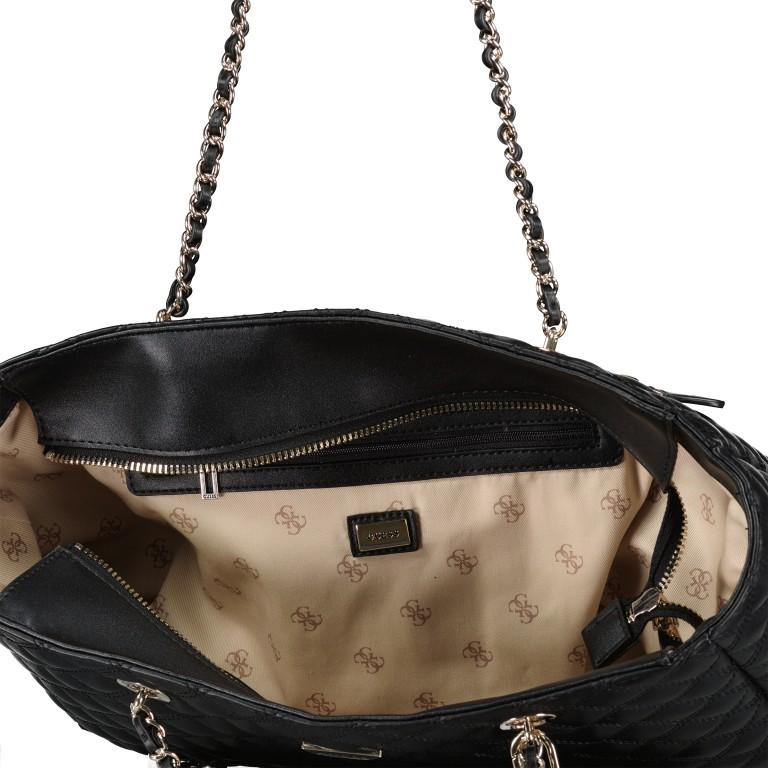Shopper Cessily Black, Farbe: schwarz, Marke: Guess, EAN: 0190231498483, Abmessungen in cm: 35.0x27.0x11.0, Bild 5 von 5