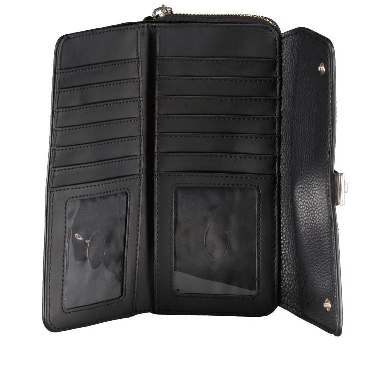 Geldbörse Albury Black, Farbe: schwarz, Marke: Guess, EAN: 0190231486602, Abmessungen in cm: 19.5x9.5x4.0, Bild 4 von 4