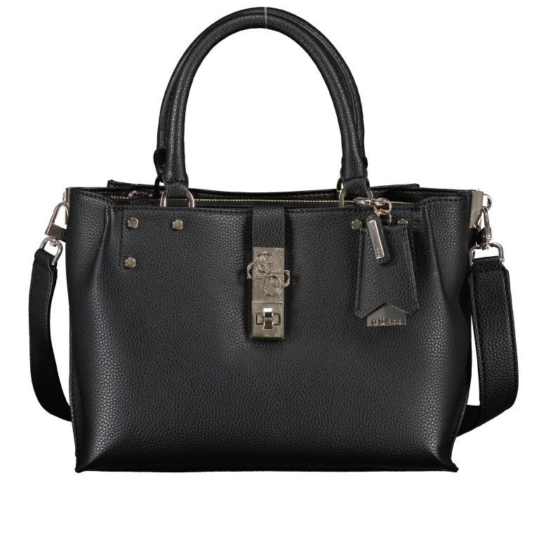 Handtasche Albury Black, Farbe: schwarz, Marke: Guess, EAN: 0190231486022, Abmessungen in cm: 29.0x21.0x10.0, Bild 1 von 8