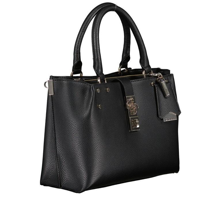 Handtasche Albury Black, Farbe: schwarz, Marke: Guess, EAN: 0190231486022, Abmessungen in cm: 29.0x21.0x10.0, Bild 2 von 8