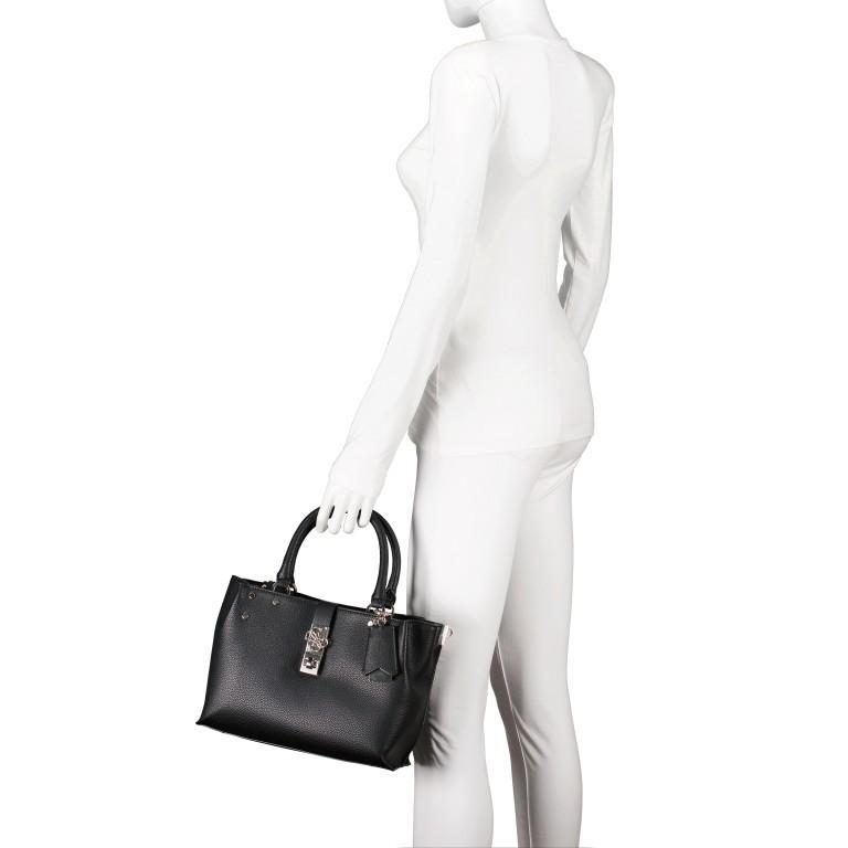 Handtasche Albury Black, Farbe: schwarz, Marke: Guess, EAN: 0190231486022, Abmessungen in cm: 29.0x21.0x10.0, Bild 4 von 8