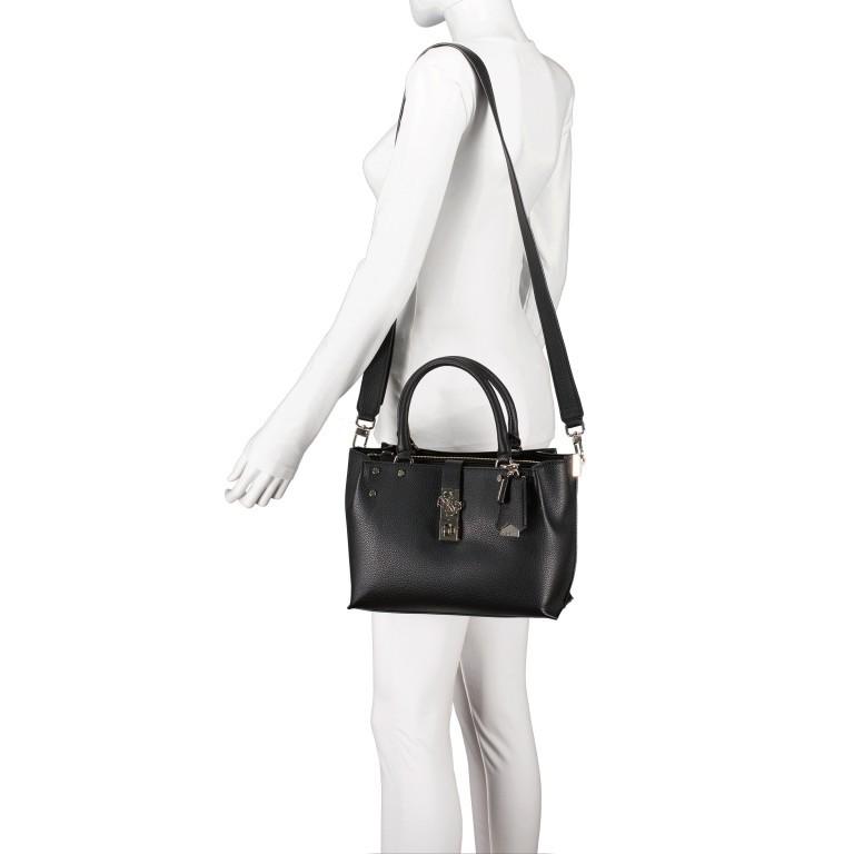 Handtasche Albury Black, Farbe: schwarz, Marke: Guess, EAN: 0190231486022, Abmessungen in cm: 29.0x21.0x10.0, Bild 5 von 8