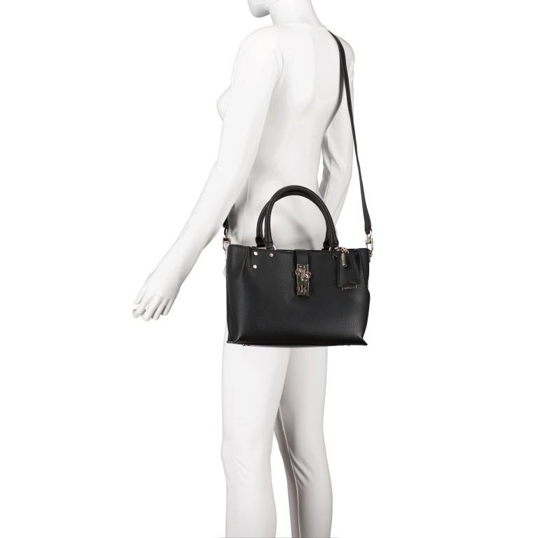 Handtasche Albury Black, Farbe: schwarz, Marke: Guess, EAN: 0190231486022, Abmessungen in cm: 29.0x21.0x10.0, Bild 6 von 8