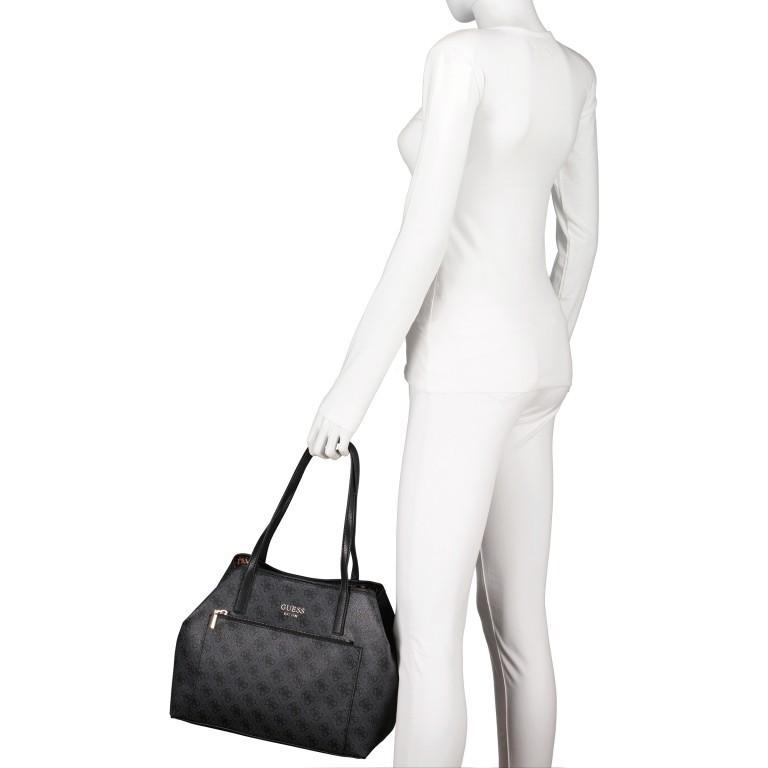 Shopper Vikky Bag in Bag Coal Logo, Farbe: schwarz, Marke: Guess, EAN: 0190231480204, Bild 4 von 14
