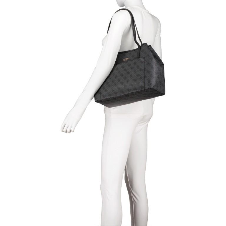 Shopper Vikky Bag in Bag Coal Logo, Farbe: schwarz, Marke: Guess, EAN: 0190231480204, Bild 5 von 14