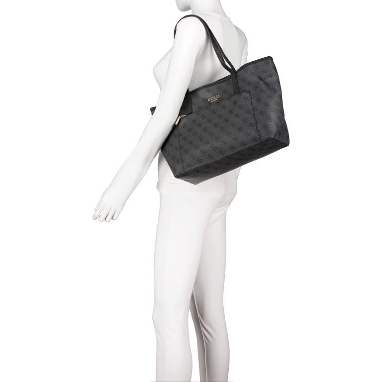 Shopper Vikky Bag in Bag Coal Logo, Farbe: schwarz, Marke: Guess, EAN: 0190231480204, Bild 6 von 14