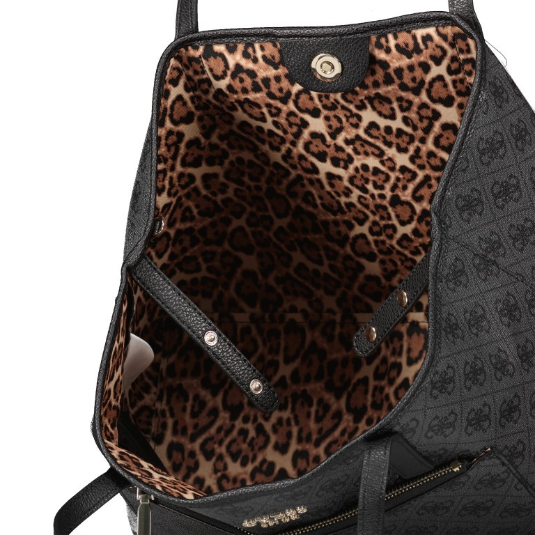 Shopper Vikky Bag in Bag Coal Logo, Farbe: schwarz, Marke: Guess, EAN: 0190231480204, Bild 9 von 14