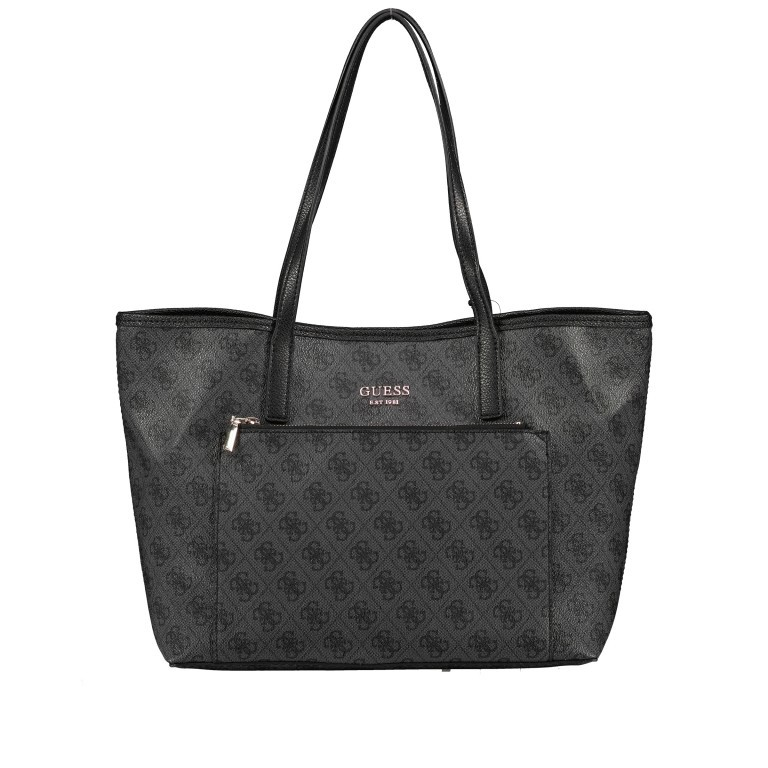 Shopper Vikky Bag in Bag Coal Logo, Farbe: schwarz, Marke: Guess, EAN: 0190231480204, Bild 11 von 14