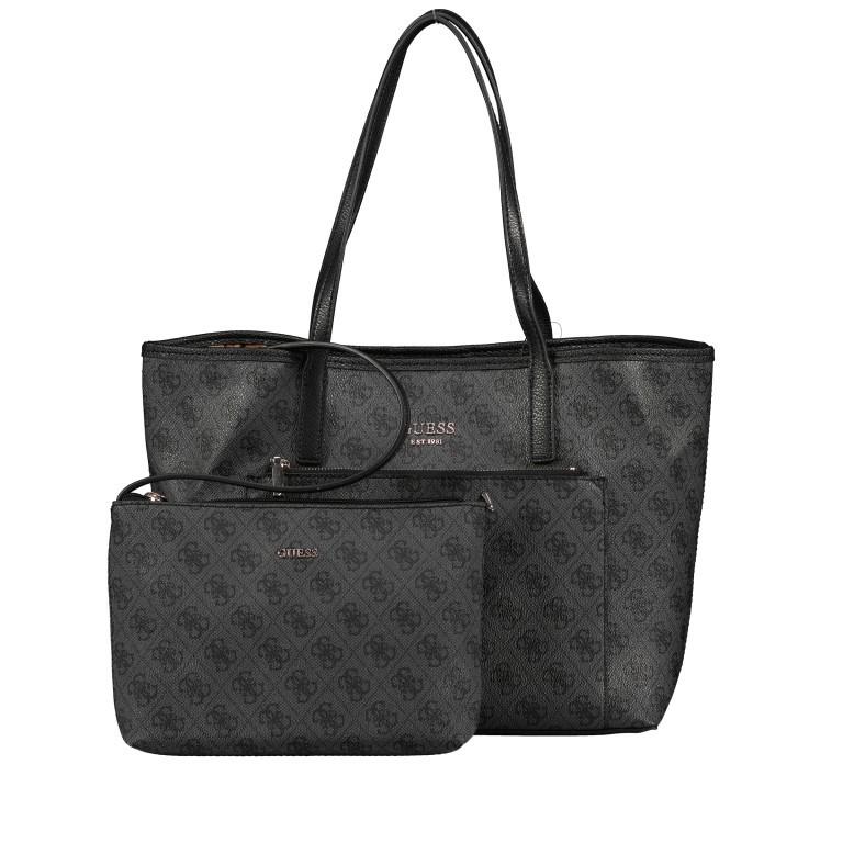 Shopper Vikky Bag in Bag Coal Logo, Farbe: schwarz, Marke: Guess, EAN: 0190231480204, Bild 12 von 14