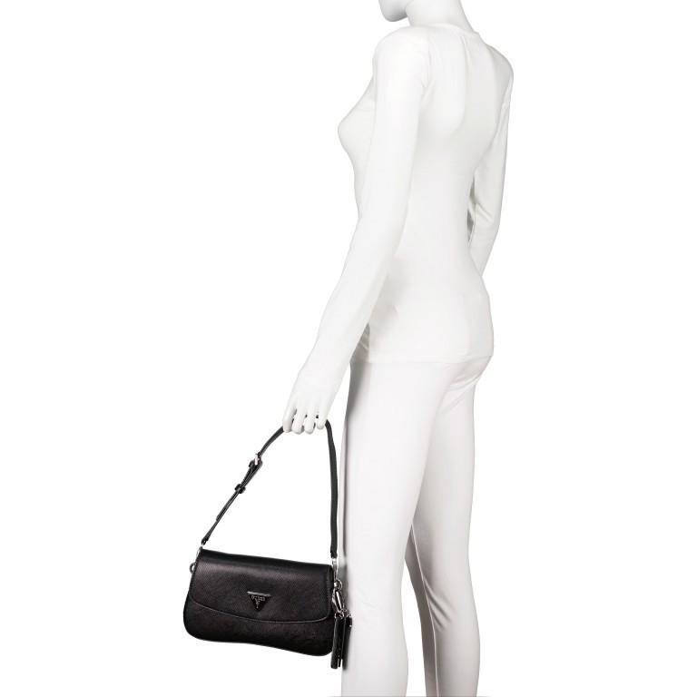 Umhängetasche Cordelia Black, Farbe: schwarz, Marke: Guess, EAN: 0190231475415, Abmessungen in cm: 26.5x16.0x5.0, Bild 4 von 6