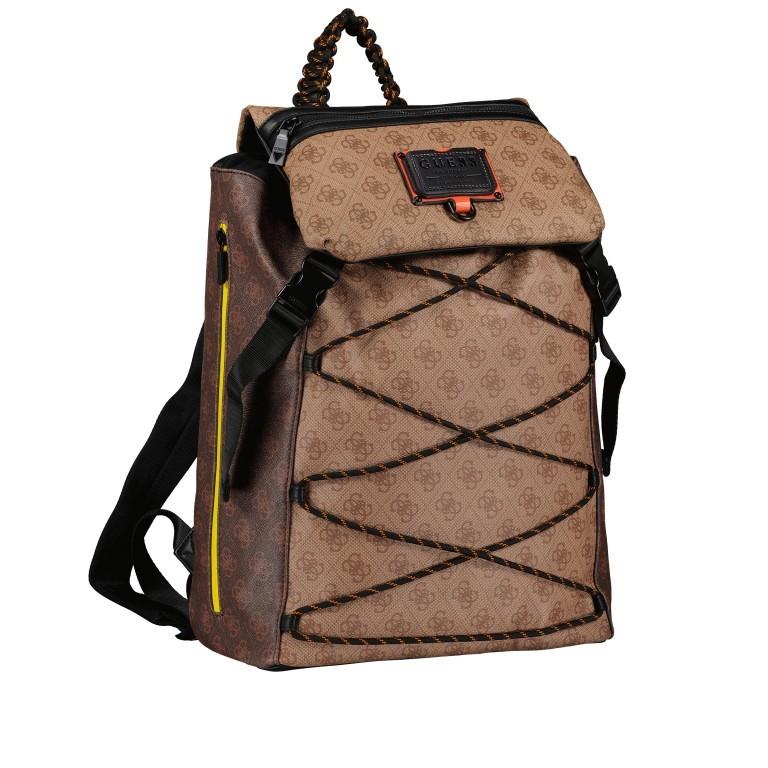 Rucksack Salameda Brown Multi, Farbe: braun, Marke: Guess, EAN: 7620207008680, Abmessungen in cm: 29.5x40.0x17.0, Bild 2 von 10