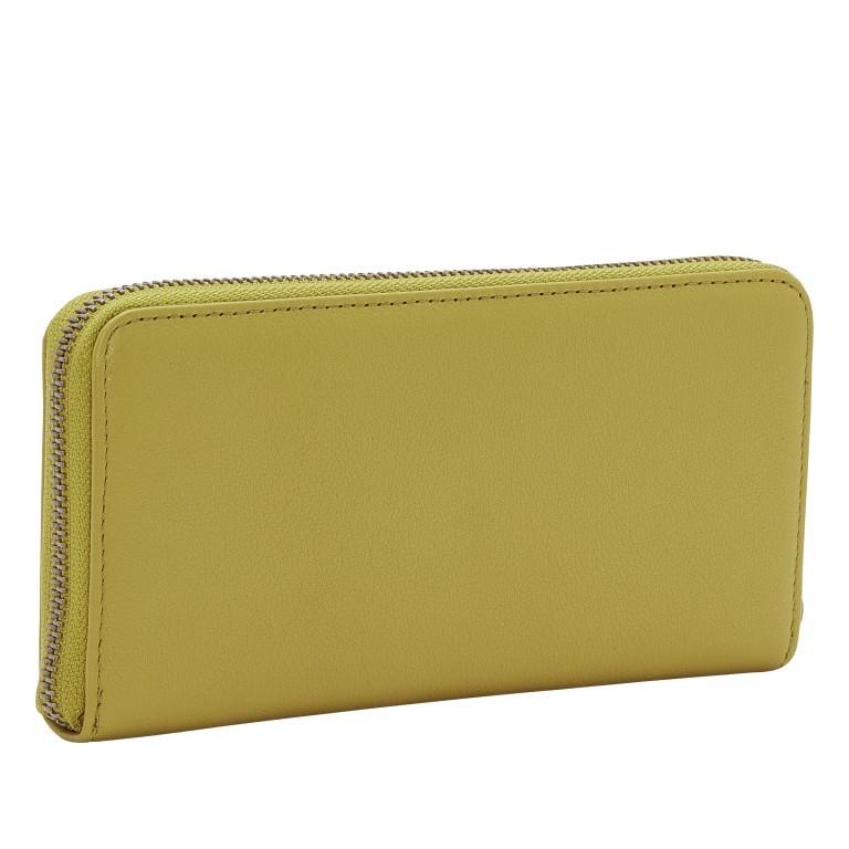 Geldbörse Basic Gigi Wallet Fern, Farbe: gelb, Marke: Liebeskind Berlin, EAN: 4064657271585, Abmessungen in cm: 19.0x9.0x2.0, Bild 2 von 4