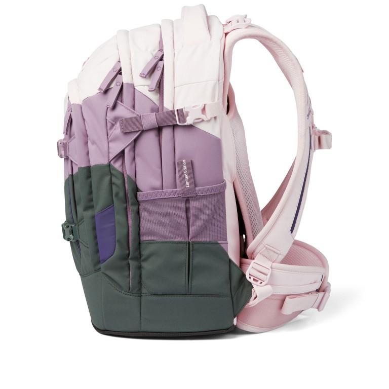 Rucksack Pack Limited Edition Now or Never Right Now, Farbe: flieder/lila, Marke: Satch, EAN: 4057081102464, Abmessungen in cm: 30.0x45.0x22.0, Bild 3 von 19