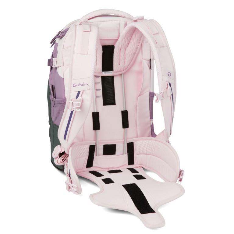 Rucksack Pack Limited Edition Now or Never Right Now, Farbe: flieder/lila, Marke: Satch, EAN: 4057081102464, Abmessungen in cm: 30.0x45.0x22.0, Bild 19 von 19