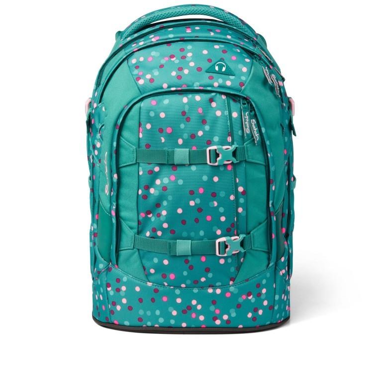 Rucksack Pack Happy Confetti, Farbe: grün/oliv, Marke: Satch, EAN: 4057081102396, Abmessungen in cm: 30.0x45.0x22.0, Bild 1 von 13