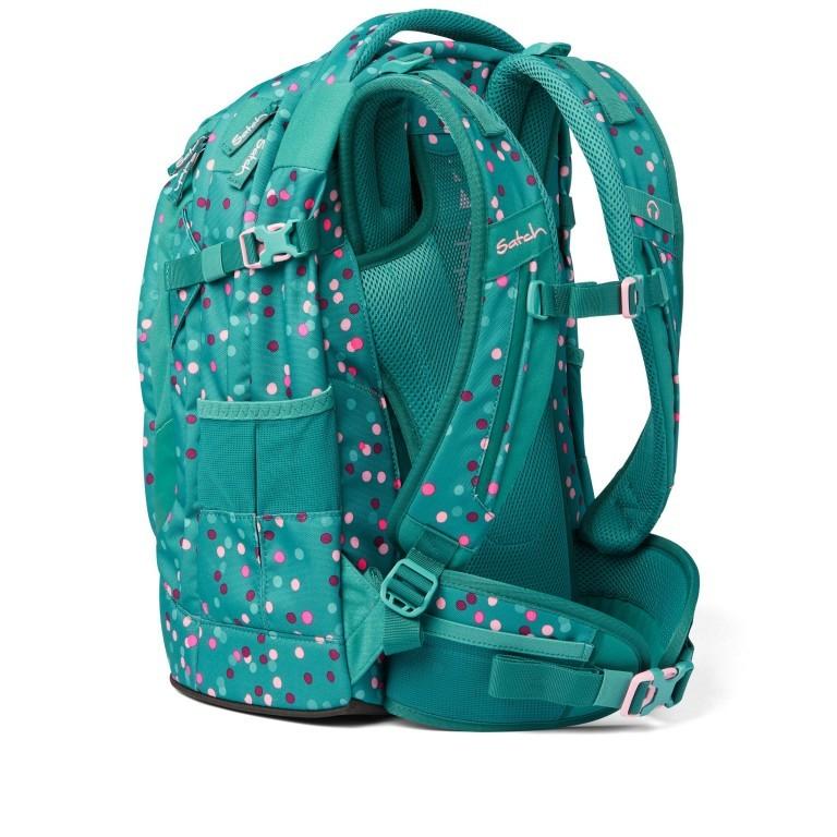 Rucksack Pack Happy Confetti, Farbe: grün/oliv, Marke: Satch, EAN: 4057081102396, Abmessungen in cm: 30.0x45.0x22.0, Bild 3 von 13