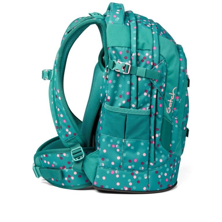 Rucksack Pack Happy Confetti, Farbe: grün/oliv, Marke: Satch, EAN: 4057081102396, Abmessungen in cm: 30.0x45.0x22.0, Bild 4 von 13