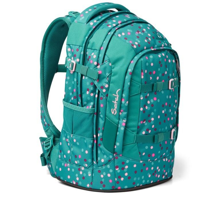 Rucksack Pack Happy Confetti, Farbe: grün/oliv, Marke: Satch, EAN: 4057081102396, Abmessungen in cm: 30.0x45.0x22.0, Bild 6 von 13