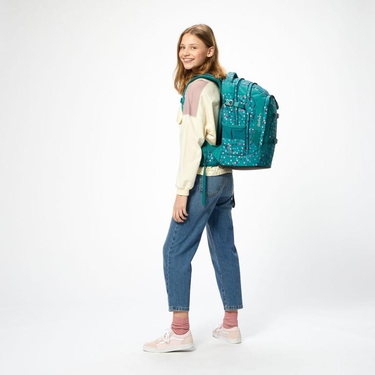 Rucksack Pack Happy Confetti, Farbe: grün/oliv, Marke: Satch, EAN: 4057081102396, Abmessungen in cm: 30.0x45.0x22.0, Bild 8 von 13