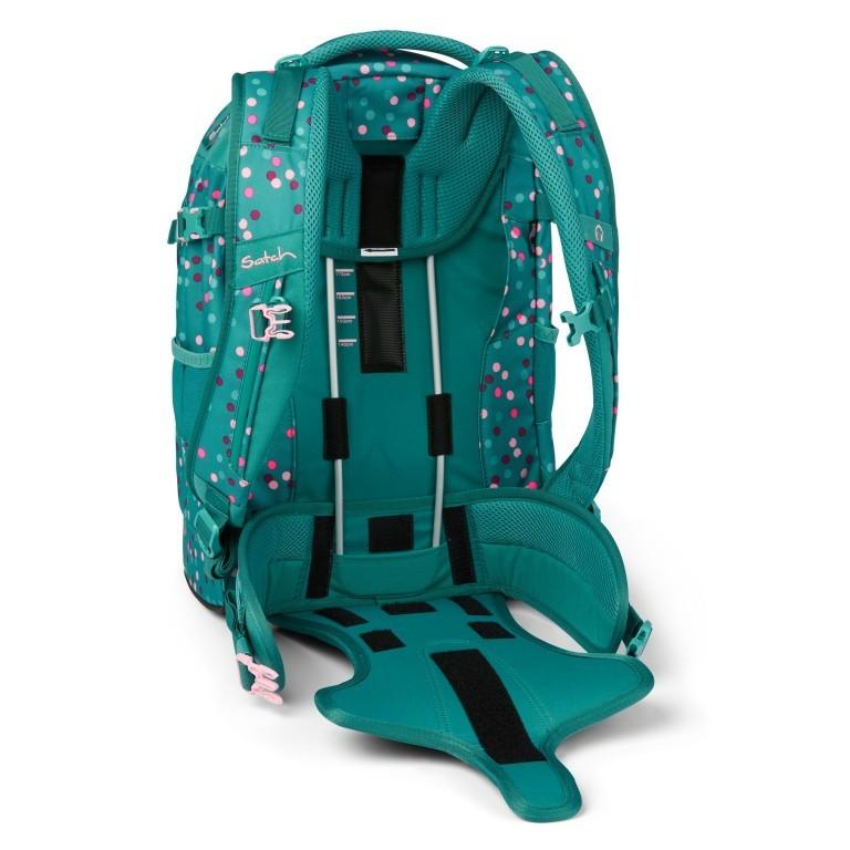 Rucksack Pack Happy Confetti, Farbe: grün/oliv, Marke: Satch, EAN: 4057081102396, Abmessungen in cm: 30.0x45.0x22.0, Bild 12 von 13