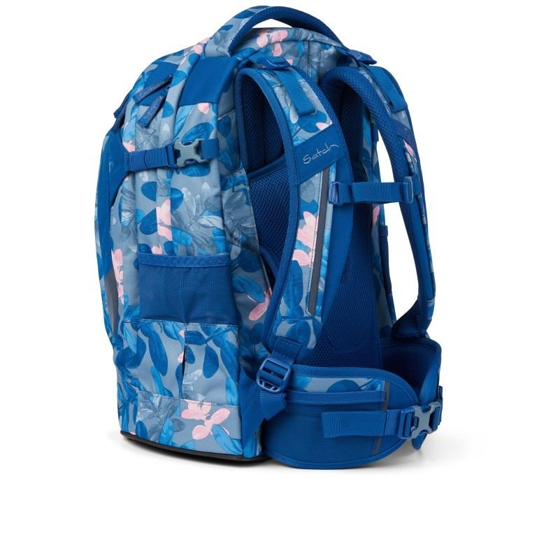Rucksack Pack Summer Soul, Farbe: blau/petrol, Marke: Satch, EAN: 4057081102402, Abmessungen in cm: 30.0x45.0x22.0, Bild 4 von 13