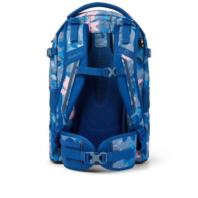Rucksack Pack Summer Soul, Farbe: blau/petrol, Marke: Satch, EAN: 4057081102402, Abmessungen in cm: 30.0x45.0x22.0, Bild 5 von 13