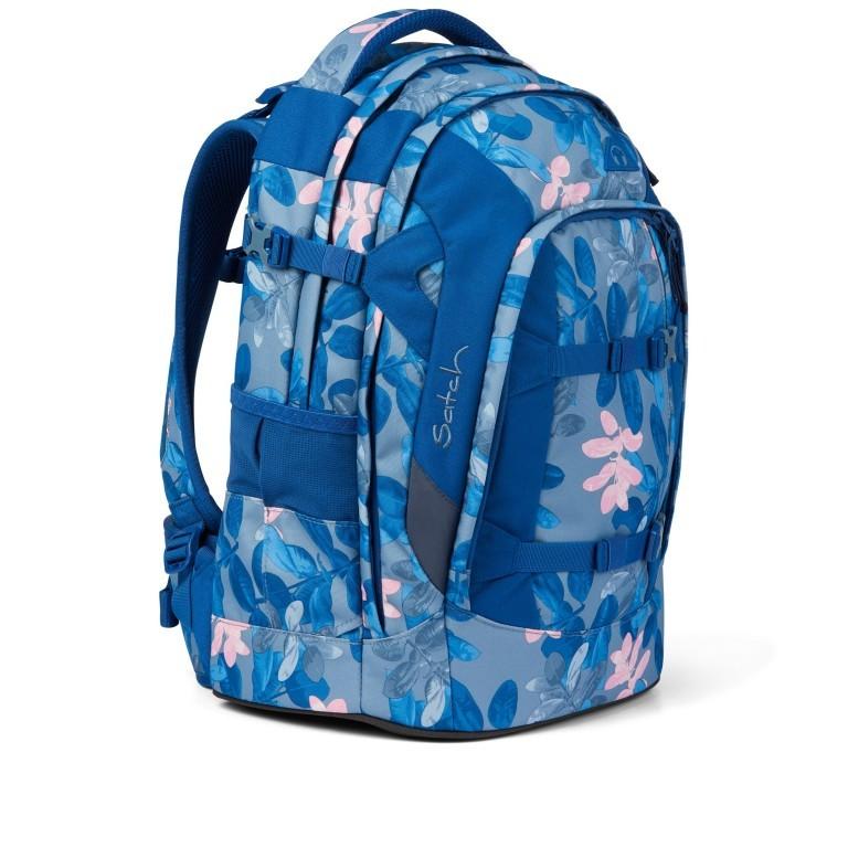 Rucksack Pack Summer Soul, Farbe: blau/petrol, Marke: Satch, EAN: 4057081102402, Abmessungen in cm: 30.0x45.0x22.0, Bild 8 von 13