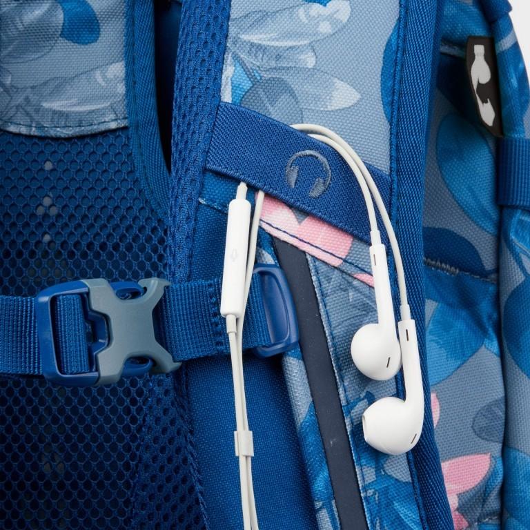 Rucksack Pack Summer Soul, Farbe: blau/petrol, Marke: Satch, EAN: 4057081102402, Abmessungen in cm: 30.0x45.0x22.0, Bild 12 von 13