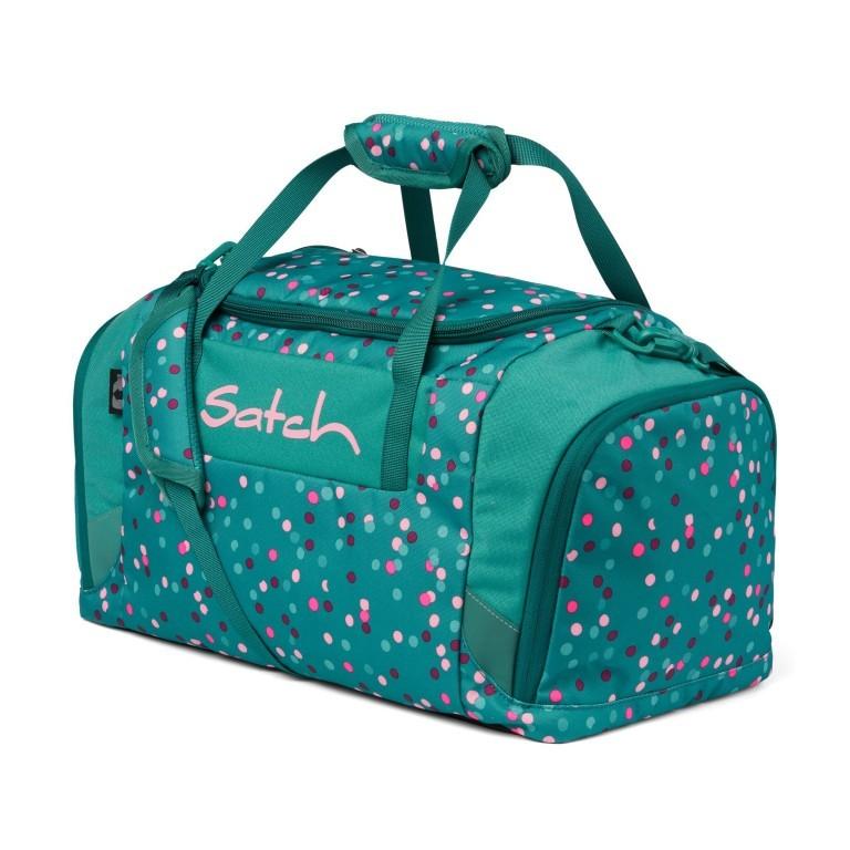 Sporttasche Happy Confetti, Farbe: grün/oliv, Marke: Satch, EAN: 4057081102563, Abmessungen in cm: 45.0x25.0x25.0, Bild 1 von 5