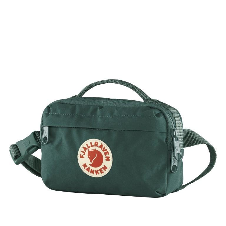 Gürteltasche Kånken Hip Pack Arctic Green, Farbe: grün/oliv, Marke: Fjällräven, EAN: 7323450724467, Abmessungen in cm: 18.0x12.0x9.0, Bild 2 von 11