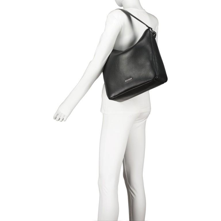 Beuteltasche Andermatt Marie Black, Farbe: schwarz, Marke: Bogner, EAN: 4053533887842, Abmessungen in cm: 30.0x30.0x11.0, Bild 5 von 9