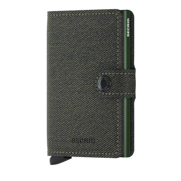 Geldbörse Miniwallet Twist, Farbe: grün/oliv, Marke: Secrid, EAN: 8718215288565, Abmessungen in cm: 6.5x10.2x2.1, Bild 1 von 5