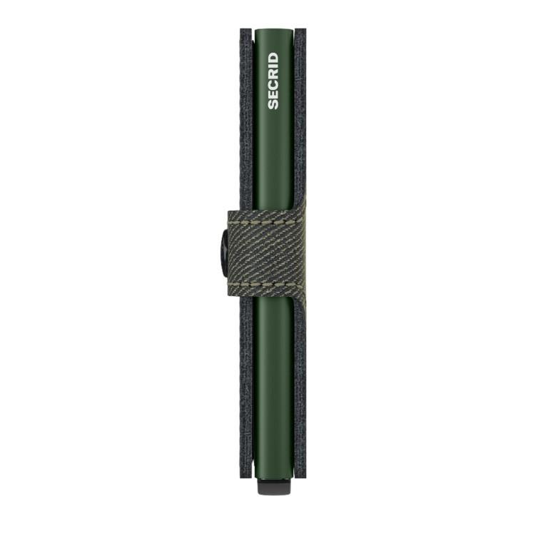 Geldbörse Miniwallet Twist, Farbe: grün/oliv, Marke: Secrid, EAN: 8718215288565, Abmessungen in cm: 6.5x10.2x2.1, Bild 2 von 5