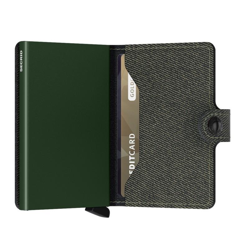 Geldbörse Miniwallet Twist, Farbe: grün/oliv, Marke: Secrid, EAN: 8718215288565, Abmessungen in cm: 6.5x10.2x2.1, Bild 3 von 5