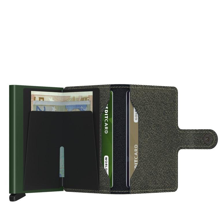 Geldbörse Miniwallet Twist, Farbe: grün/oliv, Marke: Secrid, EAN: 8718215288565, Abmessungen in cm: 6.5x10.2x2.1, Bild 4 von 5