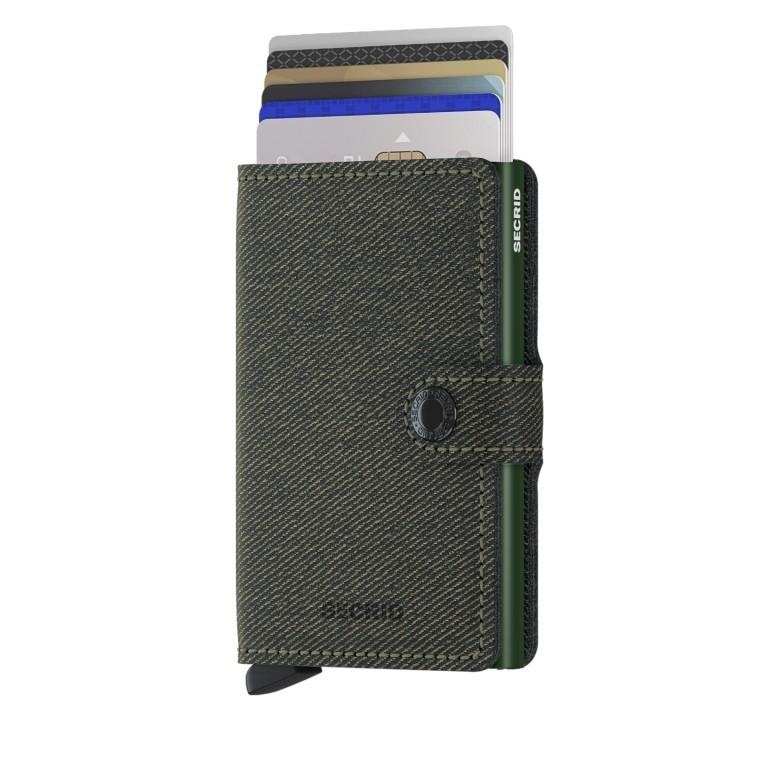 Geldbörse Miniwallet Twist, Farbe: grün/oliv, Marke: Secrid, EAN: 8718215288565, Abmessungen in cm: 6.5x10.2x2.1, Bild 5 von 5