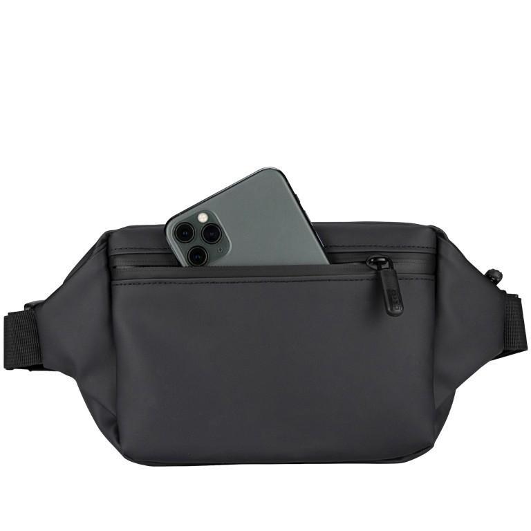 Gürteltasche Carryall Sling reflektierend Black, Farbe: schwarz, Marke: OAK25, EAN: 4270001715937, Abmessungen in cm: 28.0x14.0x10.0, Bild 3 von 6
