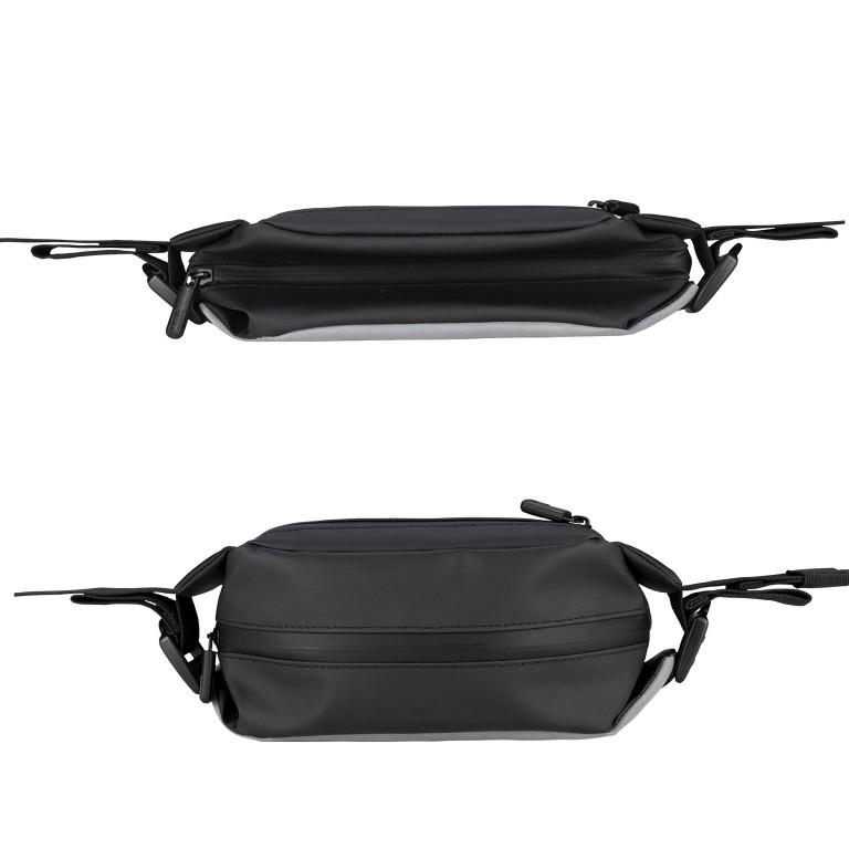 Gürteltasche Carryall Sling reflektierend Black, Farbe: schwarz, Marke: OAK25, EAN: 4270001715937, Abmessungen in cm: 28.0x14.0x10.0, Bild 4 von 6
