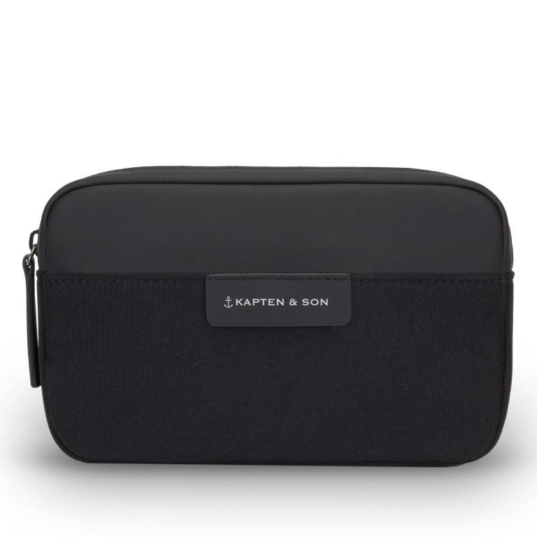 Gürteltasche Habo All Black, Farbe: schwarz, Marke: Kapten & Son, EAN: 4251145250270, Abmessungen in cm: 22.0x13.0x5.0, Bild 1 von 8