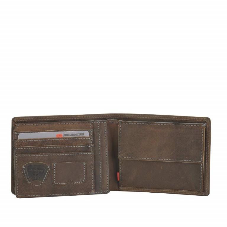 Geldbörse Baker Street Billfold H7 Brown, Farbe: braun, Marke: Strellson, EAN: 4006053044424, Abmessungen in cm: 12.5x9.5x2.0, Bild 2 von 2