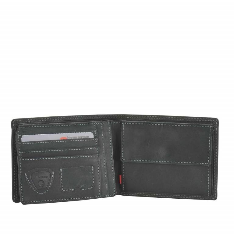 Geldbörse Baker Street Billfold H7 Black, Farbe: schwarz, Marke: Strellson, EAN: 4006053044417, Abmessungen in cm: 12.5x9.5x2.0, Bild 2 von 2