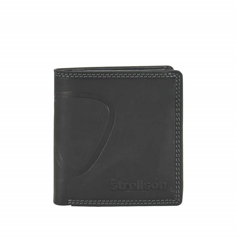 Geldbörse Baker Street Billfold Q7, Farbe: schwarz, braun, Marke: Strellson, Bild 1 von 1